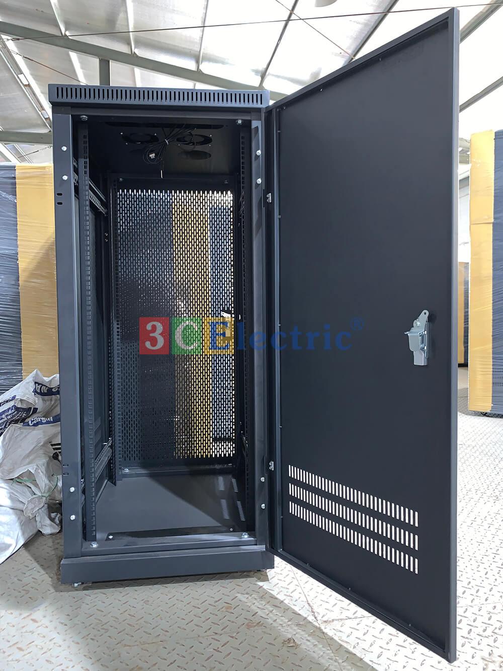3CElectric sản xuất tủ mạng 27U