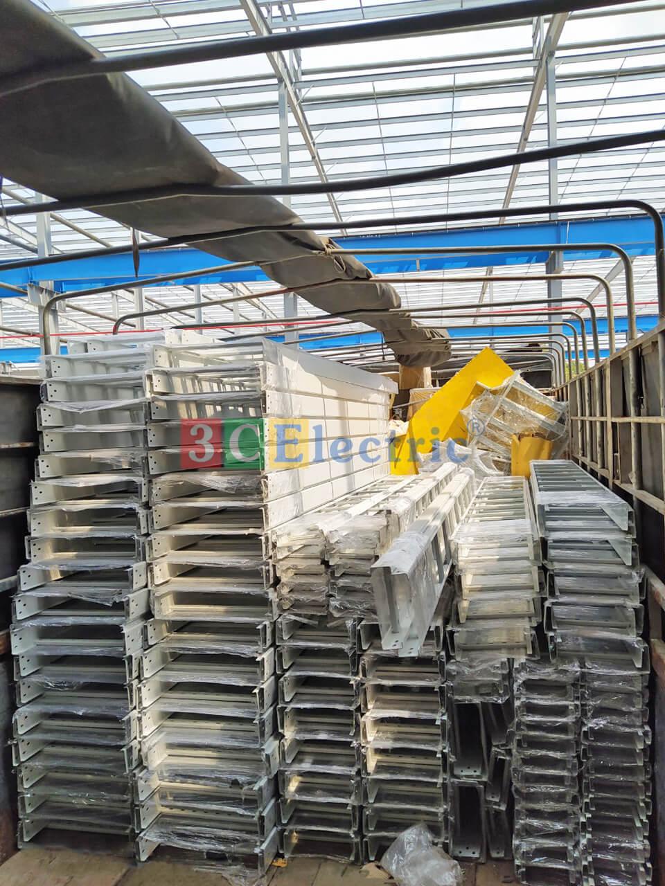 Cung cấp thang cáp sơn tĩnh điện cho các dự án Vingroup