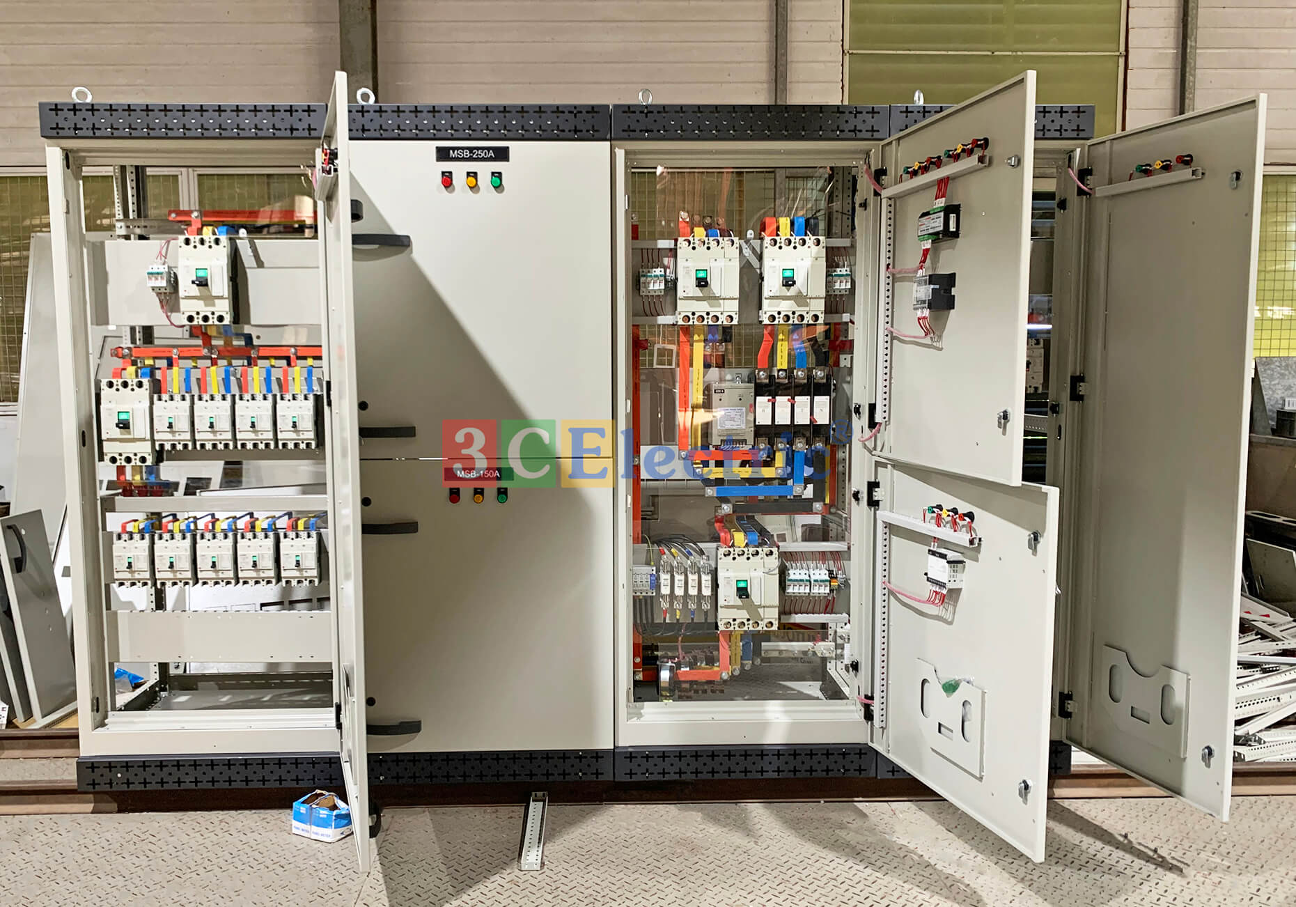 Dàn tủ điện điều khiển 3CElectric sản xuất