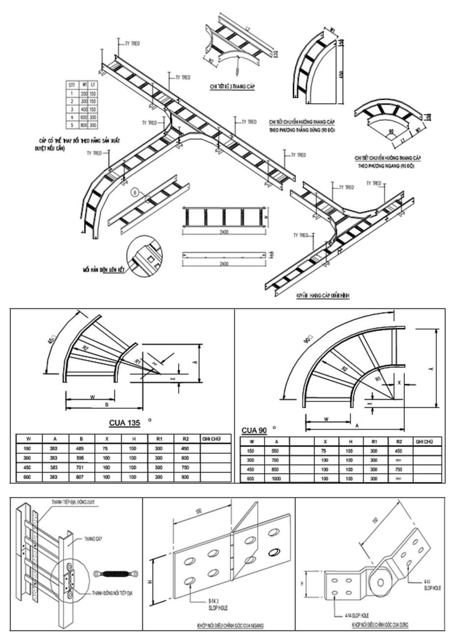 Hệ thống thang cáp điện