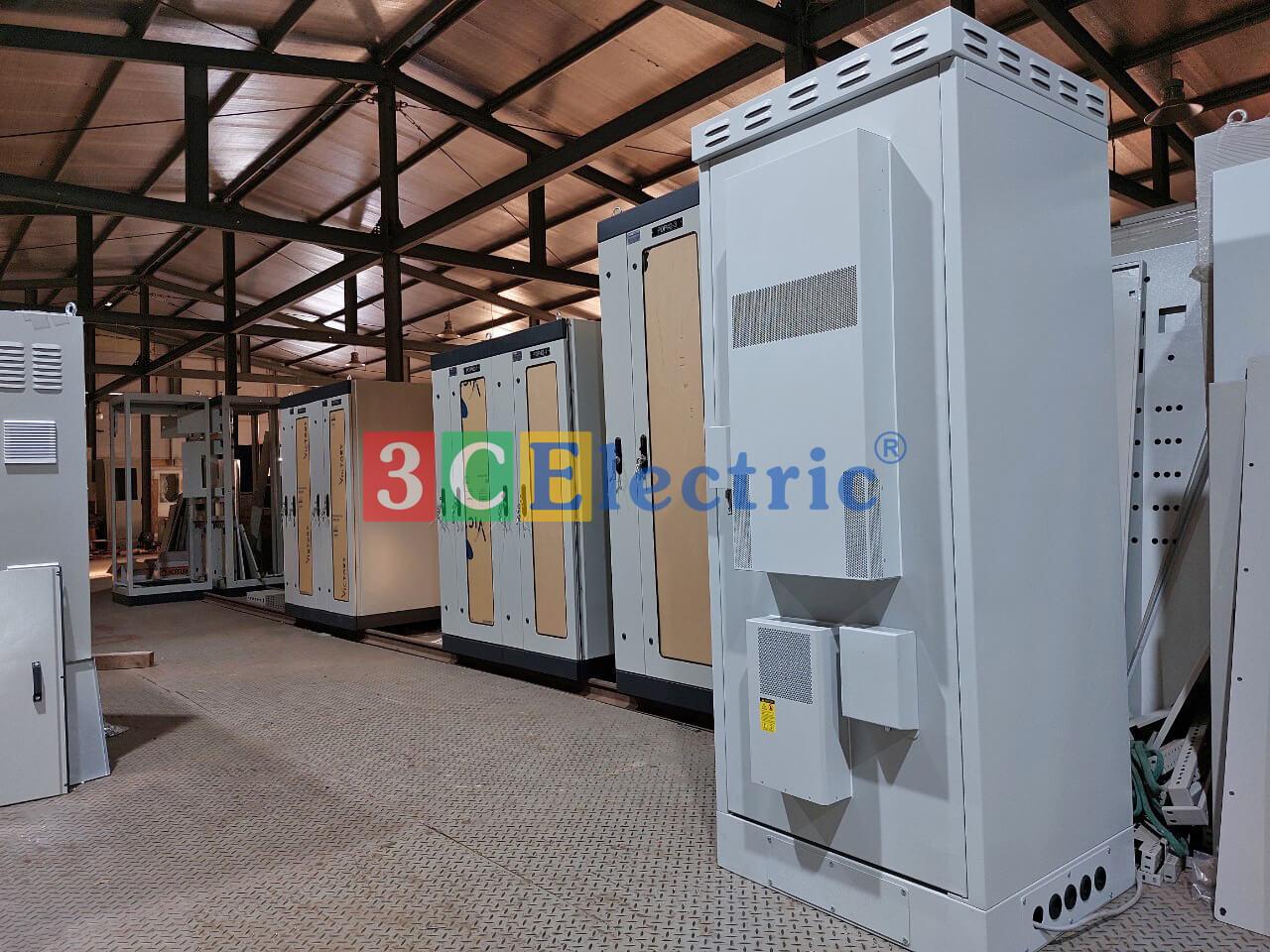nhà máy 3CElectric sản xuất các loại tủ bts tủ nguồn outdoor