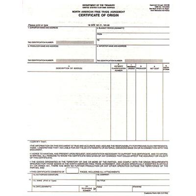Những điều cần lưu ý khi làm giấy chứng nhận xuất xứ(CO)
