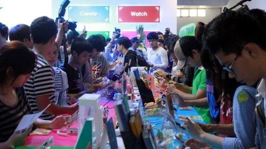 Hơn 200 gian hàng tại Triển lãm Quốc tế kỷ nguyên công nghệ số 2013