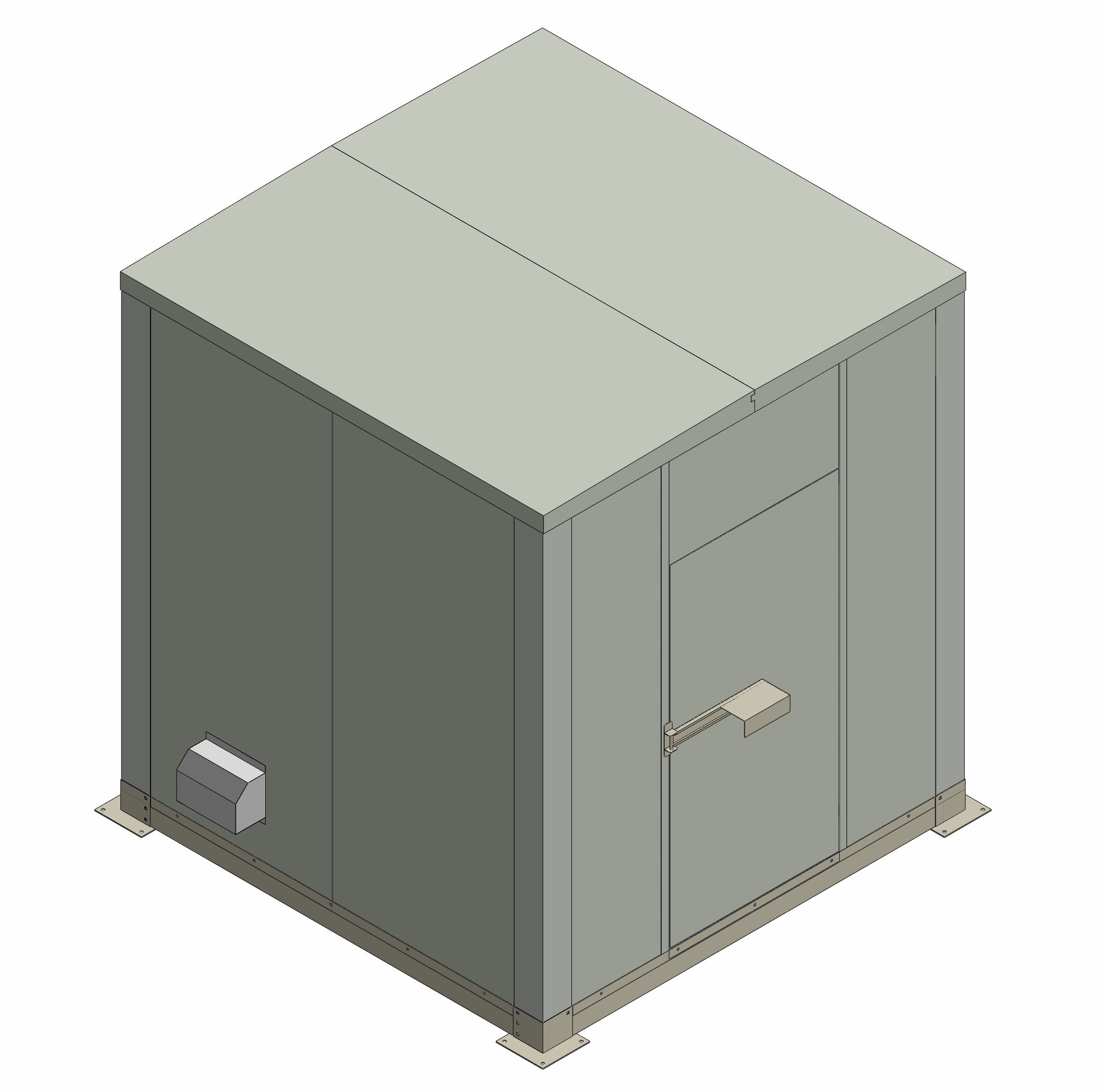 Shelter 3C-M2700W2640D2040T60